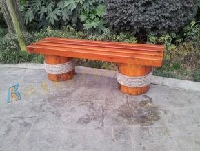 陕西仿木座椅制作